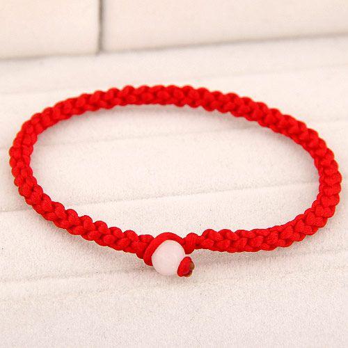 Korean fashion lucky red rope bracelet NHSC191237