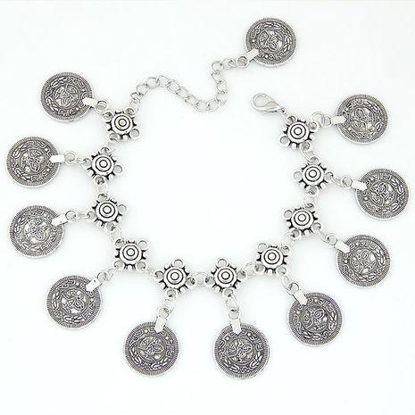 Bracelet de cheville exagéré sauvage Vintage Coins NHSC191236's discount tags