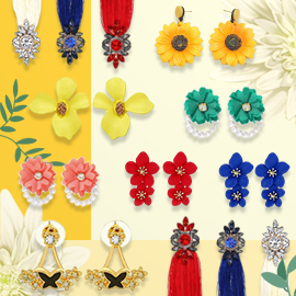 Aretes De Flores