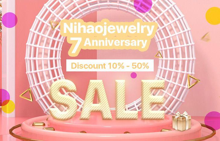 Nihaojewelry 7 Anniversary
