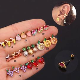 Copper & Zircon Jewelry