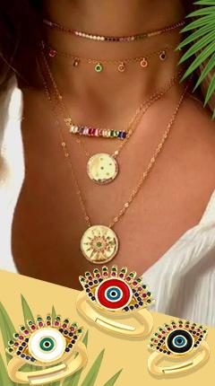 Copper Zircon Jewelry
