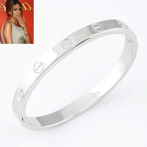 EXQUISITE alloy rose alloy LOVE series forever ring bangle ( alloy ) 212046