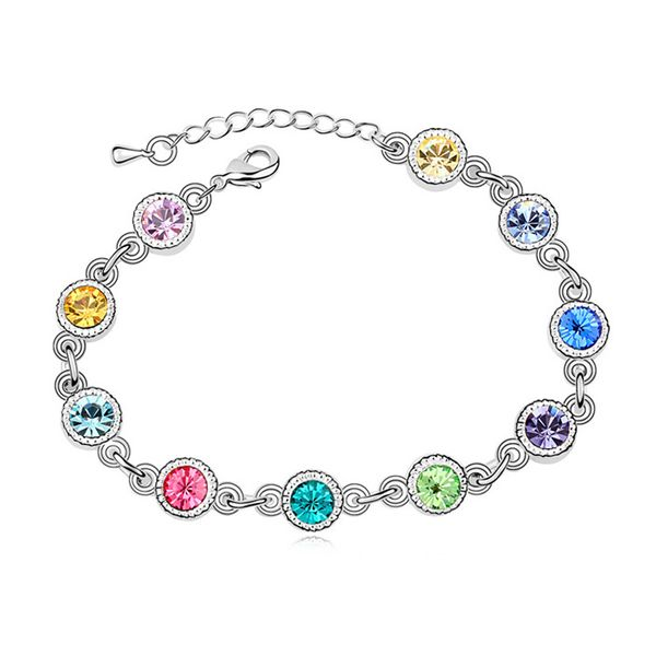 Austrian imitated crystal bracelet - Night piano ( Color ) 11593