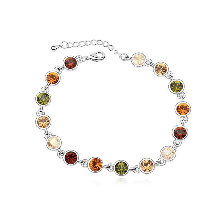 Austrian imitated crystal bracelet - Starlight flow ( Color ) 11345