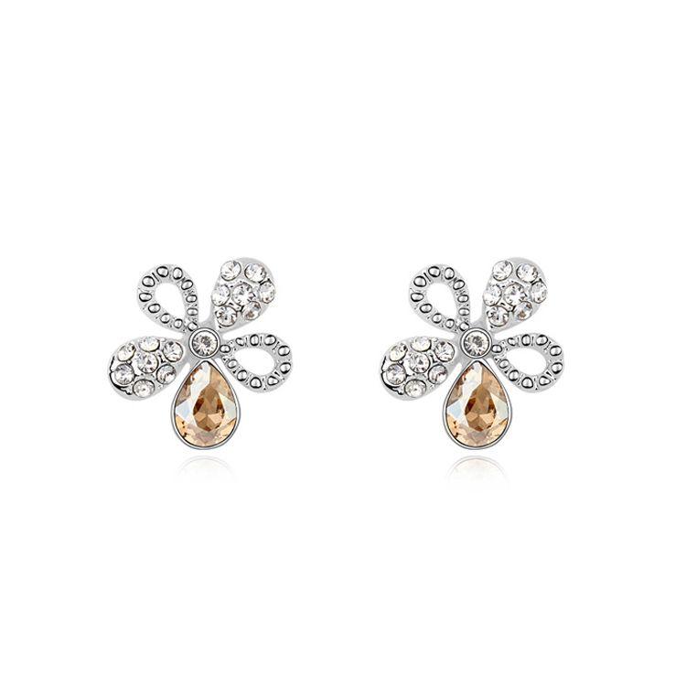 Austrian imitated crystal earrings  Loving Youth  Alloy Shadow  10892