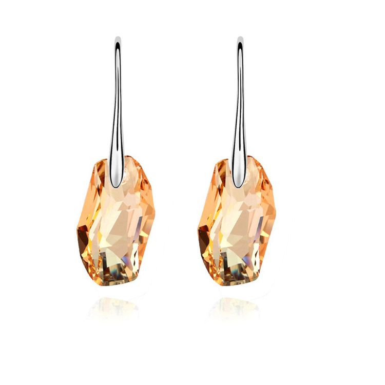 Austrian imitated crystal earrings - Love Over Alloy ( Alloy Shadow ) 10733