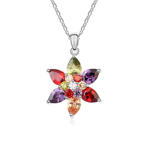 AAA grade zircon necklace - Champs shadow ( Color ) 10049