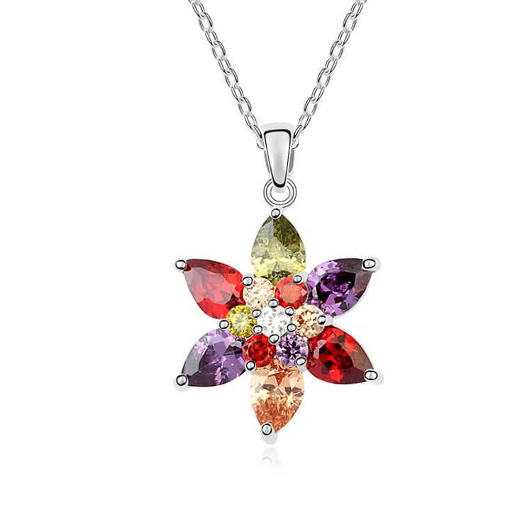 AAA grade zircon necklace - Champs shadow ( Color ) 10049