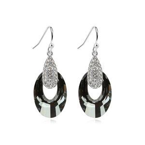 Austrian imitated crystal earrings  Asaka sunset  Alloy Night Shadow  8288