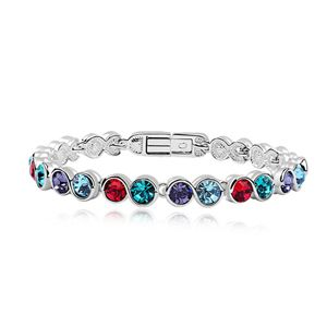 Austrian imitated crystal bracelet - Water Yingying ( Color ) 7330