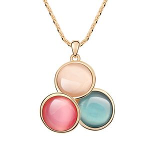 Alloy  Candy color sweater chain opal  Color  7272