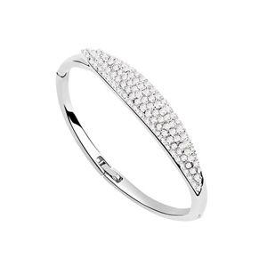 Austrian imitated crystal bracelet  Provence  White  7165
