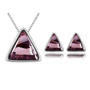 Austrian Imitated crystal Set - Secret roof ( Classic Pink ) 6777