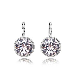Austrian imitated crystal earrings - Rhinestone Candy ( White ) 6323