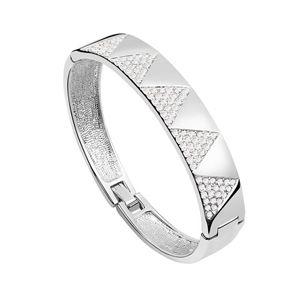 Austrian imitated crystal bracelet  City of Angels  White  6297