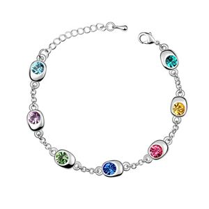 Austrian imitated crystal bracelet  Happiness Waltz  Color  5739