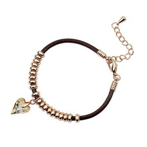 Austrian imitated crystal bracelet - Tamrac ( Alloy Shadow ) 5513