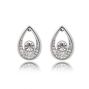 Imitated crystal auricular - Tianzhu Princess ( White ) 4959