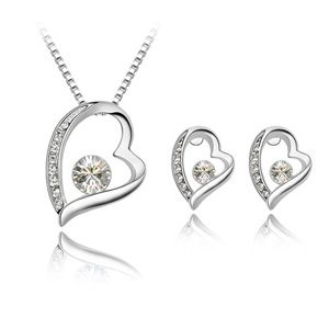 Austrian Imitated crystal Set - Forever ( White ) 4320