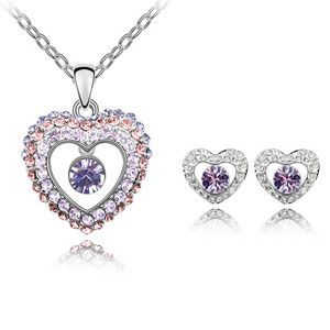 Austrian Imitated crystal Set  Western Princess  Violet  4299