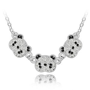 Imitated crystal Necklace - Cubs 3406