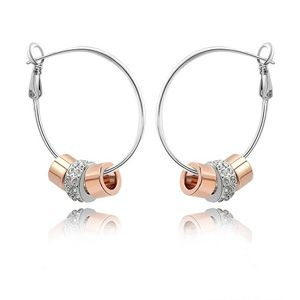 Imitated crystal Earrings - Strung memories 1491
