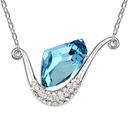 Austrian imitated crystal necklace  Eternal Summer  Pale pinkish purple  13319
