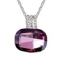 Austrian imitated crystal necklace  Trevi Fountain  Denim Blue  6278