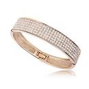 Austrian imitated crystal bracelet  Brilliant multicolor  Rose Alloy + White  5120