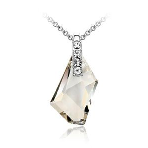 Austrian imitated crystal necklace - Promise of love ( Alloy Shade ) 1227