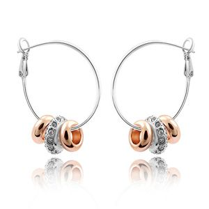 Imitated crystal Earrings - Strung happiness 1080