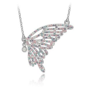 Imitated crystal Necklace  Papilio Phantom  Color  3521