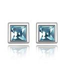 Austrian imitated crystal earrings  Meet  Alloy Shadow  1902