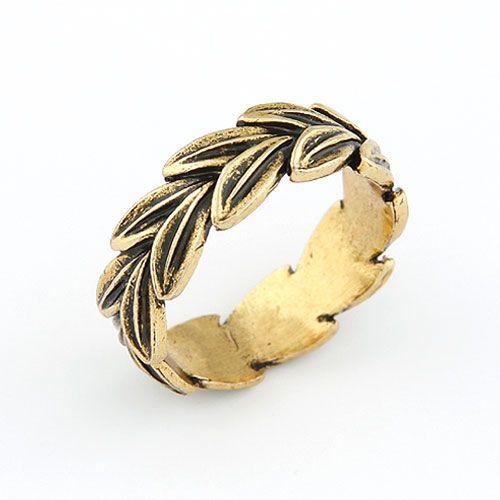 Vintage branches unique ring 210579
