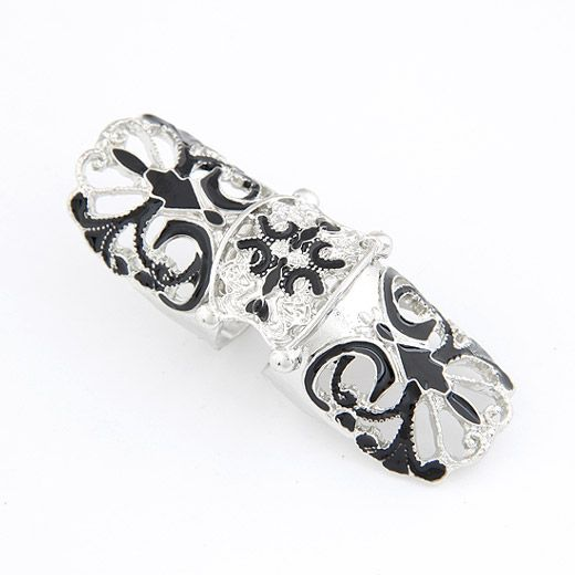 Extra big the butterfly flexible trendy ring 208957