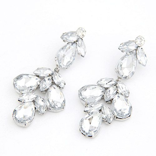 EXQUISITE Occident fashion boast dazzling boast luxury unique ear studs 207696