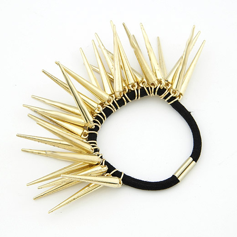 ASOS same design punk style alloy studded scrunchies / hair accessories 204841