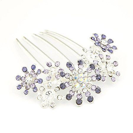 Gem embedded luxury petal hair accessories 203969