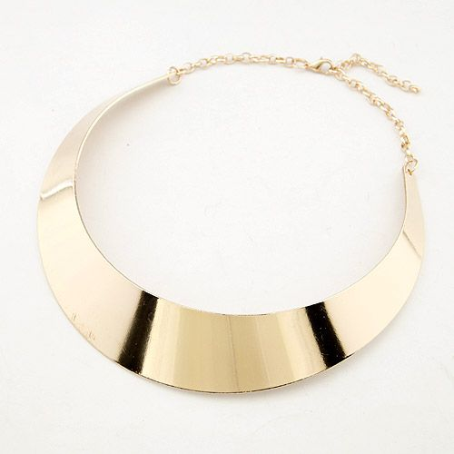 ( middle ) Occident brand metal boast smooth women s circlet / necklace alloy 200659