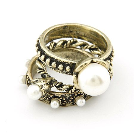 Classic Beads multi-layer easy match ring 200529