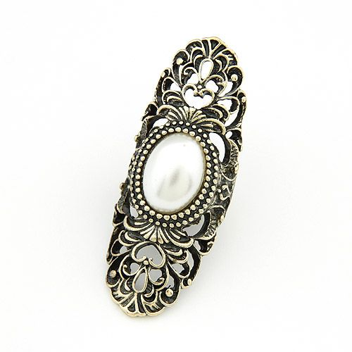 Occident fashion boast hollow out carved ring 199076