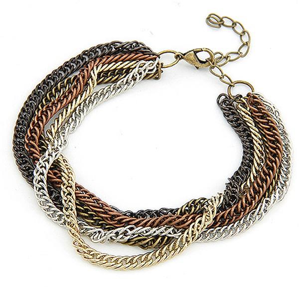 Special multi-layer chain bracelet 198102