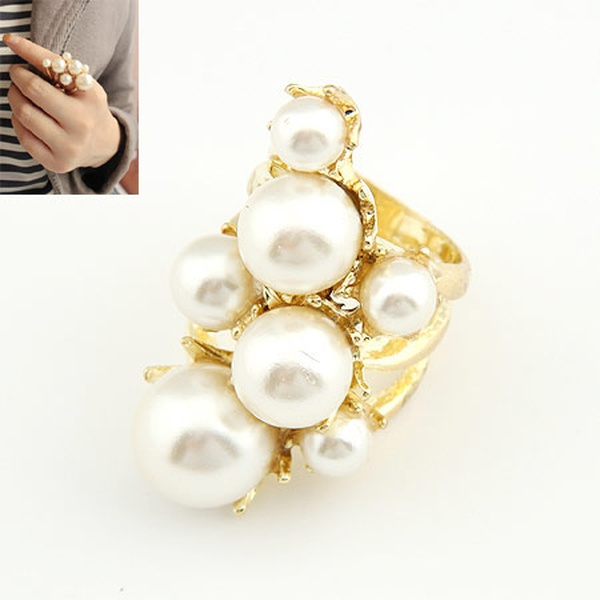Eleant big Beads ring 185322