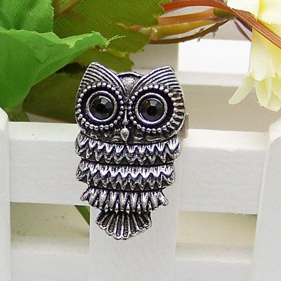 Classic fashion unique owl ring 179768