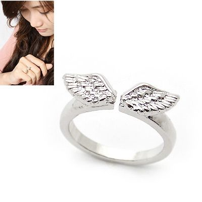 The wing of angel concise opening ring 145820