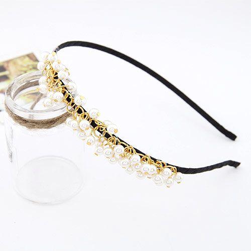 Sweet bead Beads hair hoop 192440
