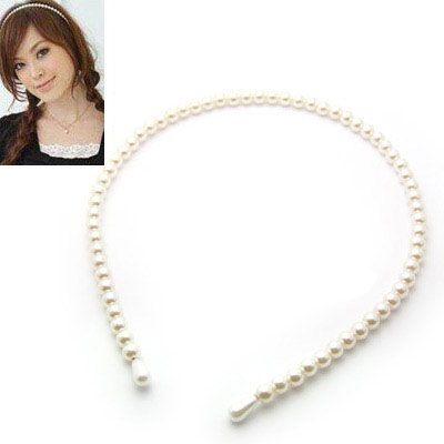 Korean popular beads barrette 143948's discount tags