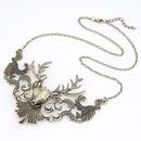 Antique bronze  Occident fashion vintage brand deer short necklace 208520