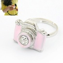 Fashion funny unique camera ring pink 178853